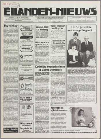 Eilanden-nieuws. Christelijk streekblad op gereformeerde grondslag 1990-04-27
