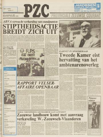 Provinciale Zeeuwse Courant 1978-12-07