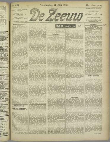 De Zeeuw. Christelijk-historisch nieuwsblad voor Zeeland 1921-05-11
