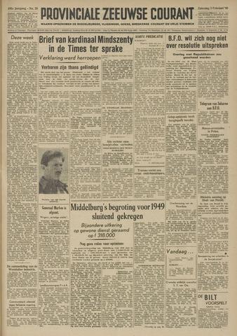 Provinciale Zeeuwse Courant 1949-02-05