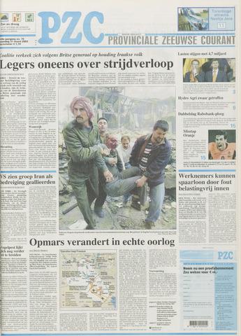 Provinciale Zeeuwse Courant 2003-03-31
