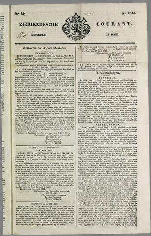 Zierikzeesche Courant 1844-06-18