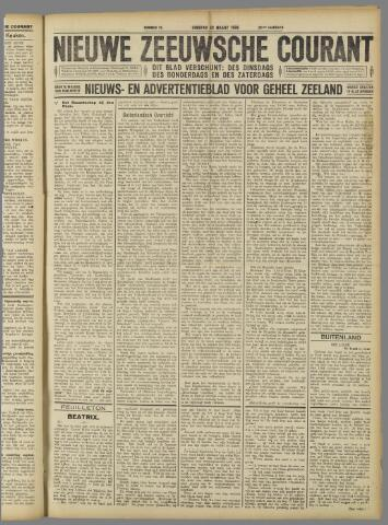 Nieuwe Zeeuwsche Courant 1926-03-23