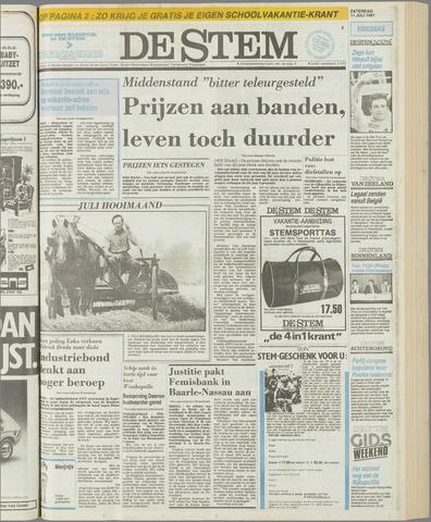 de Stem 1981-07-11