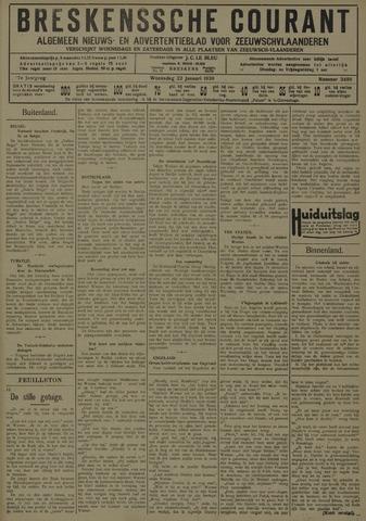 Breskensche Courant 1930-01-22