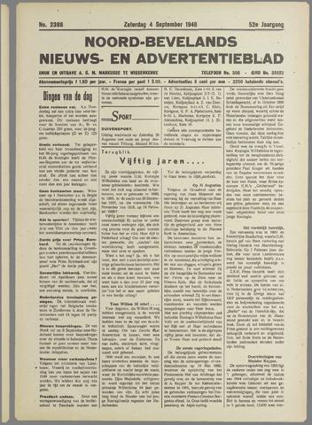 Noord-Bevelands Nieuws- en advertentieblad 1948-09-04