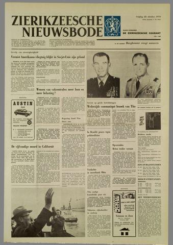 Zierikzeesche Nieuwsbode 1970-10-23