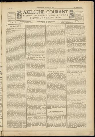 Axelsche Courant 1945-08-11