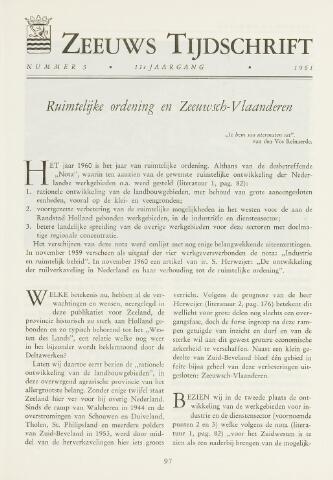 Zeeuws Tijdschrift 1961-05-01