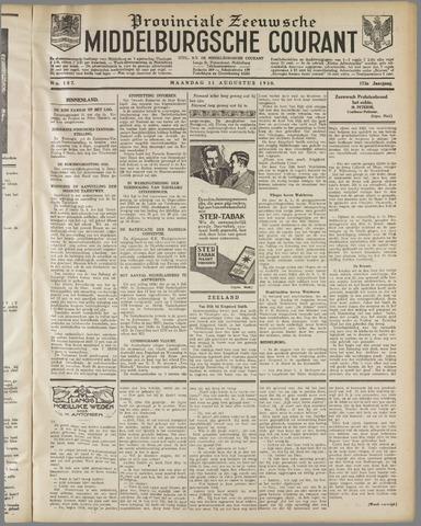 Middelburgsche Courant 1930-08-11