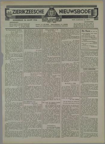 Zierikzeesche Nieuwsbode 1936-03-26
