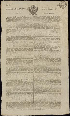 Middelburgsche Courant 1814-08-30