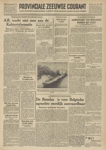 Provinciale Zeeuwse Courant 1952-07-22