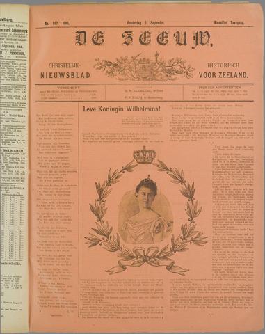 De Zeeuw. Christelijk-historisch nieuwsblad voor Zeeland 1898-09-01
