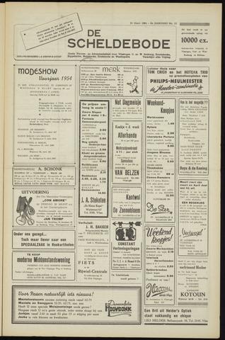 Scheldebode 1954-03-26