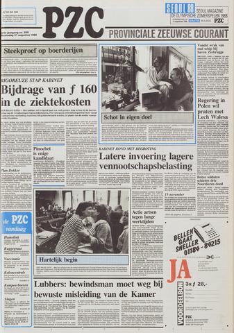 Provinciale Zeeuwse Courant 1988-08-31