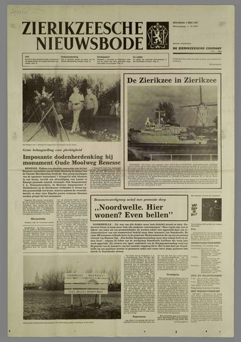 Zierikzeesche Nieuwsbode 1987-05-05