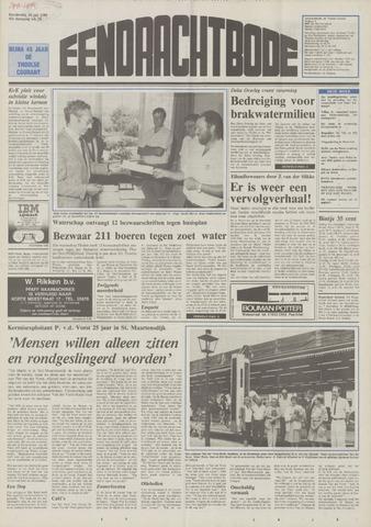 Eendrachtbode (1945-heden)/Mededeelingenblad voor het eiland Tholen (1944/45) 1989-07-20