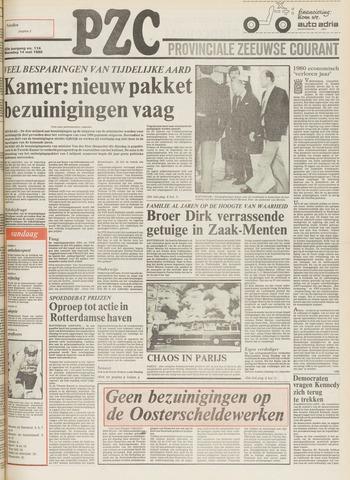 Provinciale Zeeuwse Courant 1980-05-14