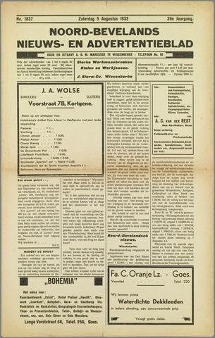 Noord-Bevelands Nieuws- en advertentieblad 1933-08-05