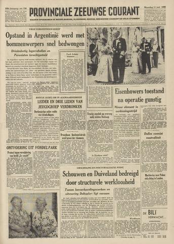 Provinciale Zeeuwse Courant 1956-06-11