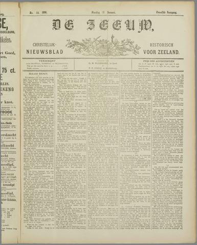 De Zeeuw. Christelijk-historisch nieuwsblad voor Zeeland 1898-01-11