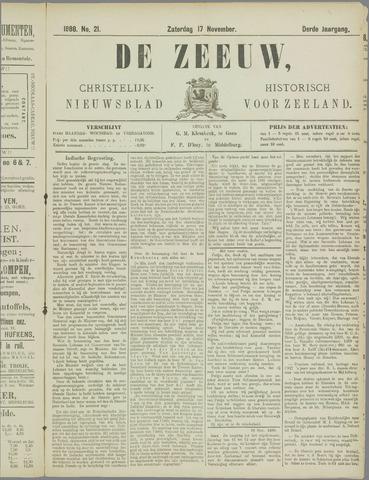 De Zeeuw. Christelijk-historisch nieuwsblad voor Zeeland 1888-11-17