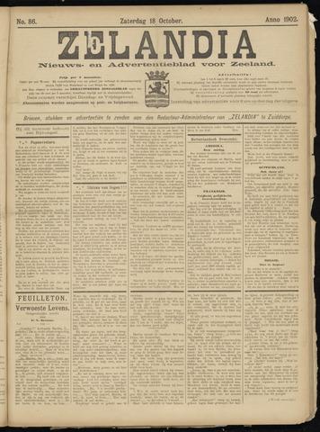 Zelandia. Nieuws-en advertentieblad voor Zeeland | edities: Het Land van Hulst en De Vier Ambachten 1902-10-18
