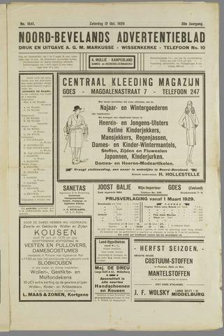 Noord-Bevelands Nieuws- en advertentieblad 1929-10-12