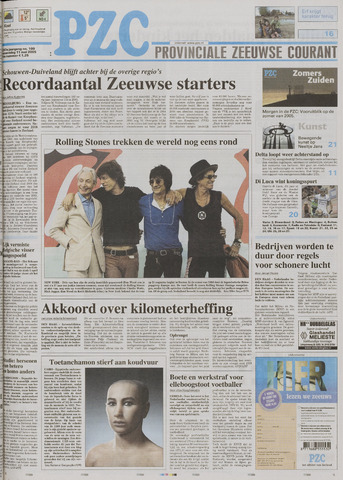 Provinciale Zeeuwse Courant 2005-05-11