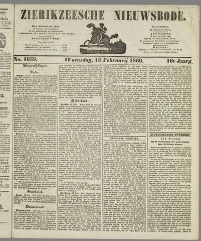 Zierikzeesche Nieuwsbode 1860-02-15