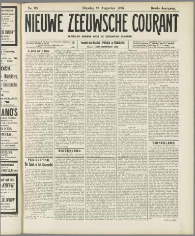 Nieuwe Zeeuwsche Courant 1907-08-20