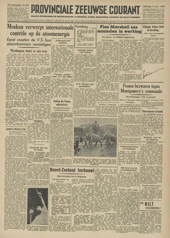 Provinciale Zeeuwse Courant 1948-10-02
