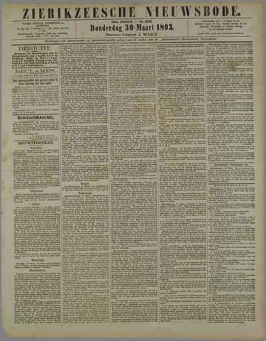 Zierikzeesche Nieuwsbode 1893-03-30