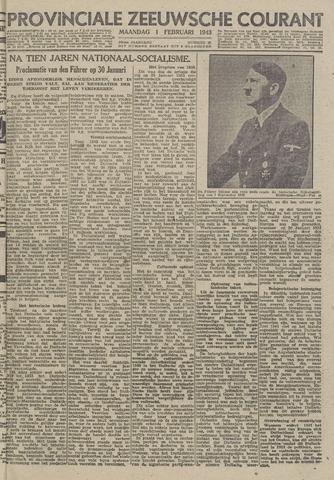 Provinciale Zeeuwse Courant 1943-02-01