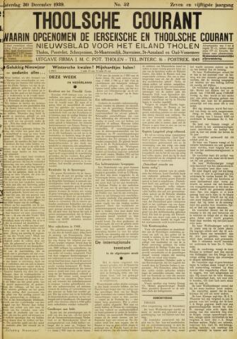 Ierseksche en Thoolsche Courant 1939-12-30