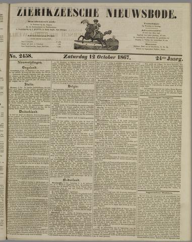 Zierikzeesche Nieuwsbode 1867-10-12