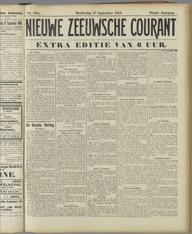 Nieuwe Zeeuwsche Courant 1914-09-17