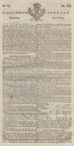 Middelburgsche Courant 1763-05-26