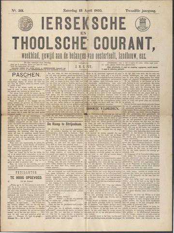 Ierseksche en Thoolsche Courant 1895-04-13