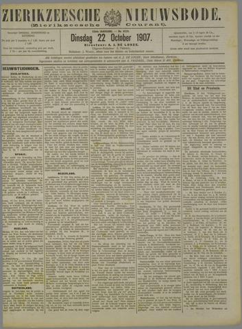 Zierikzeesche Nieuwsbode 1907-10-22