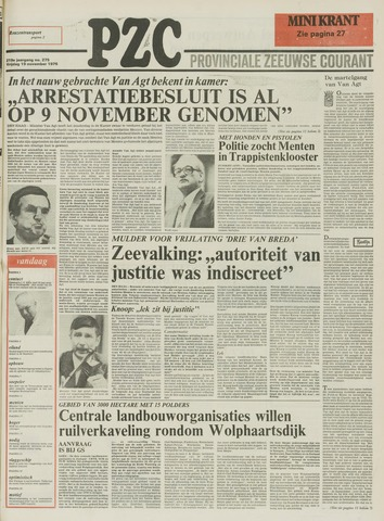 Provinciale Zeeuwse Courant 1976-11-19