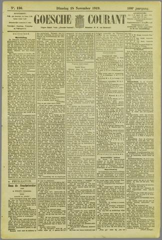 Goessche Courant 1919-11-18