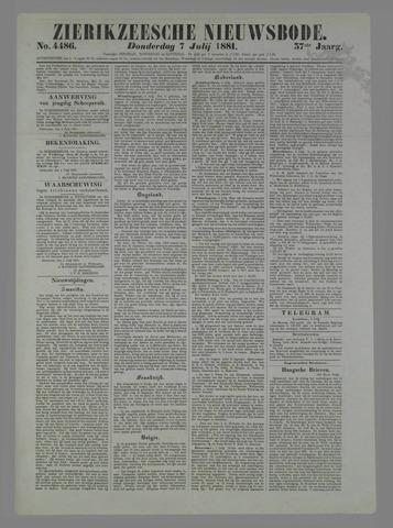 Zierikzeesche Nieuwsbode 1881-07-07