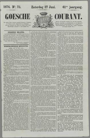 Goessche Courant 1874-06-27