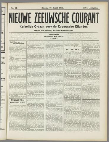 Nieuwe Zeeuwsche Courant 1905-03-28
