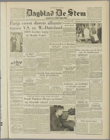 de Stem 1954-09-17