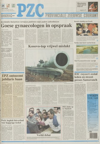 Provinciale Zeeuwse Courant 1999-03-18