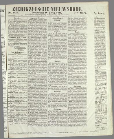 Zierikzeesche Nieuwsbode 1881-06-16