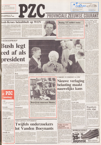 Provinciale Zeeuwse Courant 1989-01-21